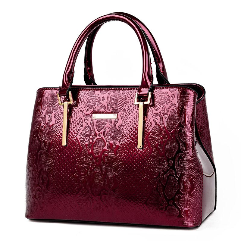 2018 New Women handbag Luxury Snake Shoulder Bags PU Leather Women Bag For Ladies Handbags Messenger Bag High Quality Tote women fur handbags 2018 high quality printing women bags women pu leather shoulder messenger bags sweet tote bag bolsa lb340