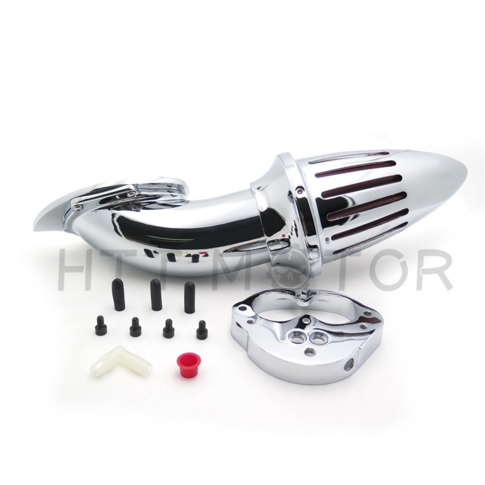 Aftermarket free shipping motorcycle parts Air Cleaner intake kits for Kawasaki Vulcan 1500 1600 Classic 2000-2012 Chrome