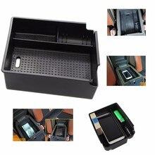 Автомобиля центральный подлокотник ящик для хранения бардачок контейнер для HYUNDAI IX35 2010-2015 авто аксессуары с коврик