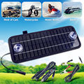 12V 4.5W Portable Solar Panel Power Battery Charger Backup For Car Boat Automobile Free Shipping