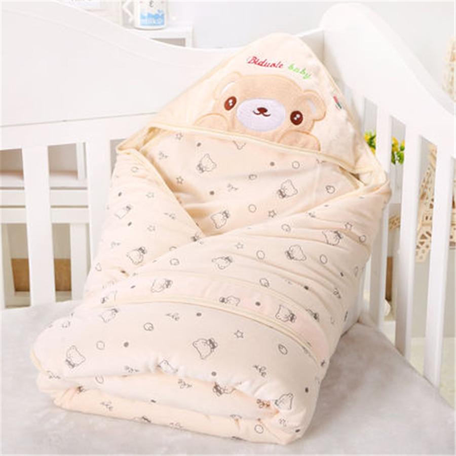 Baby Swaddling Blankets Newborn Infant Sleeping Bag For Newborns Warm Winter  Soft Cotton Swadle Baby Receiving