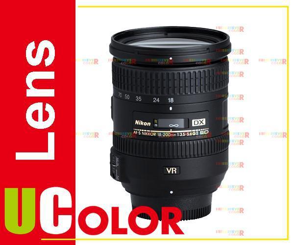 GENUINE  New Nikon Nikkor AF-S 18-200mm f/3.5-5.6 DX G ED VR II Lens nikon af s nikkor 70 200mm f 2 8g ed vr ii
