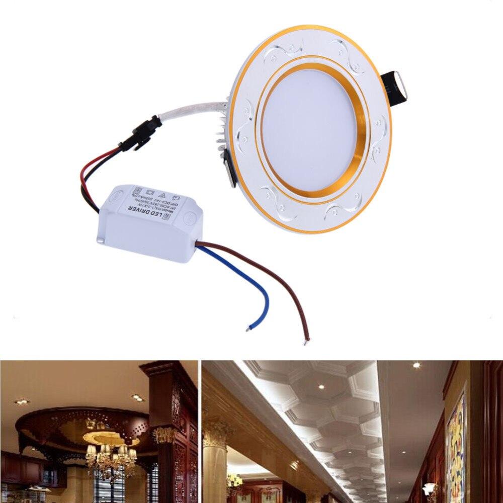 New LED Tube Light Ultrathin Room Ceiling Lamp LED lamps 2.5 inch 3W ...