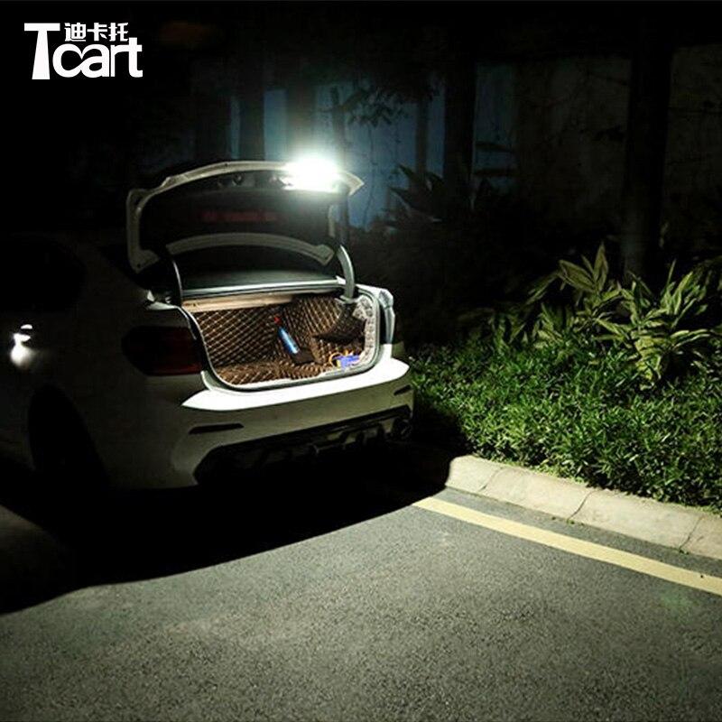 Tcart Police Light strobe Flasher warning light LED Car Truck Emergency lamps accessories for BMW e46 e90 e60 x5 f10 f30 e30 e36
