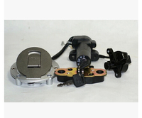 STARPAD For Motorcycle accessories, genuine original JH125 7A gold for Jialing defended sleeve locks, power door locks