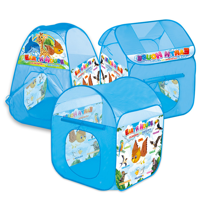Childrens tent, Play House Indoor and Outdoor Easy Folding, game house, Princess Baby, family folding, big house, ocean pool.