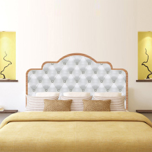 Modern PVC Bedroom Bed Head Background Headboard Sticker Eco-friendly Creative Home Decoration Wall Decal