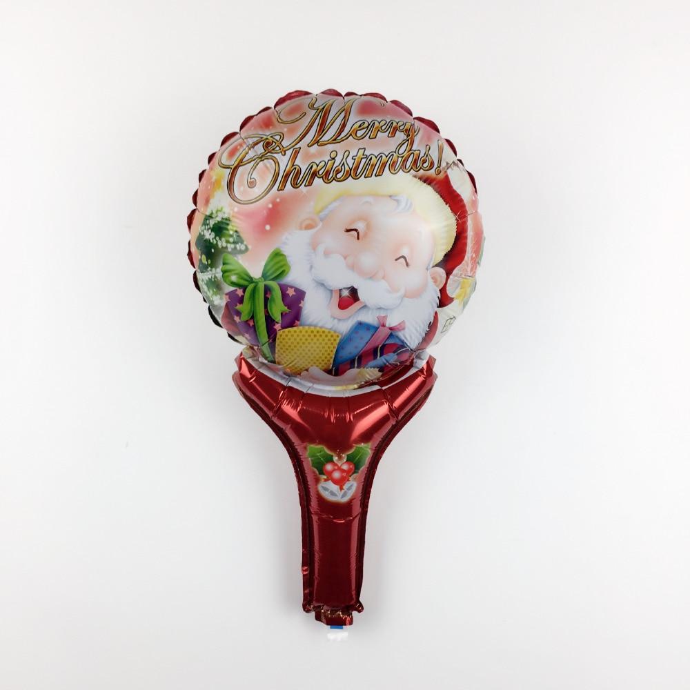 XXPWJ 1pcs Free Shipping New Santa Claus Aluminum Balloon Children's Toy Party B