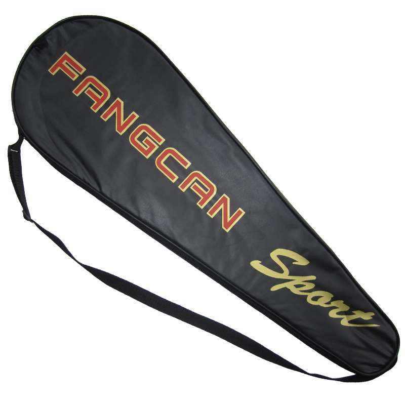 FANGCAN Badminton Racket Cover for Single Racket PU Leather Badminton Racketbag ...