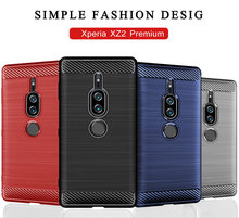 for Sony Xperia XZ2 Premium Silicone Armor Bumper Shockproof Cover Phone Cases for Sony Xperia XZ2 Premium Case Fundas