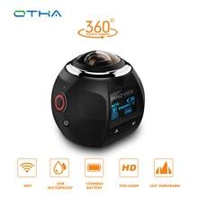 Otha 360 Камера Водонепроницаемый Ultra HD 4 К 16MP панорамный VR Action Sports видео Камера S Встроенный Wi-Fi для спорт на открытом воздухе Пеший Туризм