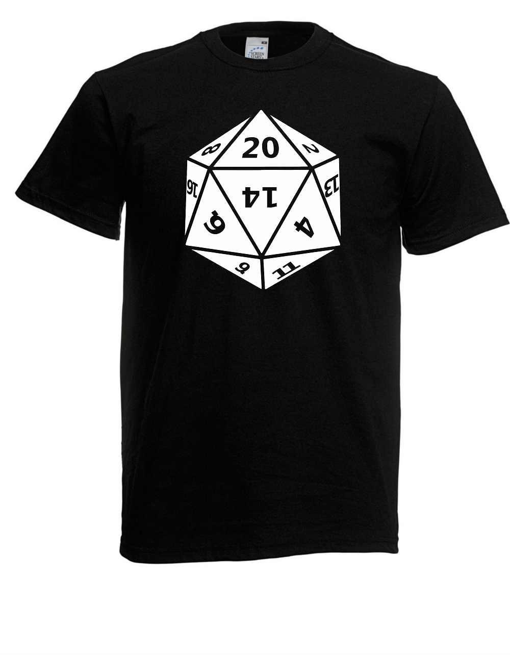 Casual T Shirt Male Pattern Herren T-Shirt I 20 Sided Dice Twenty I Spruche I Fun I Lustig bis 5XL Hot Sale Casual Clothing