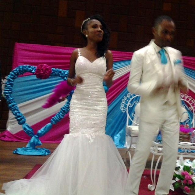 0ed561f4e054b Sexy Bride Dress Trumpet With Tail Train Applique Abiti Da Sposa Gelinlik  Custom Size Chart Casamento Mermaid Wedding Dresses