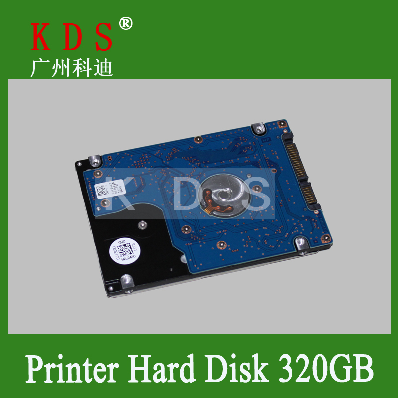 Free Shipping HDD Z5K320-250 Hard Disk Drive Kit 320GB Use For SCX-6545 6550 6345 775 6255 Printer Part hot sale 1pc hard disk drive mounting bracket kit for playstation 3 ps3 slim cech 2000 fw1s for ps3 slim hard drive bracket