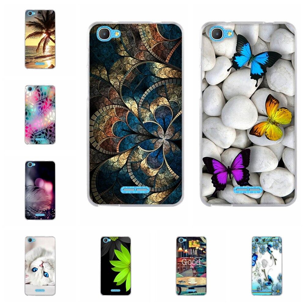 For Alcatel Pixi 4 Plus Power Silicone Phone Case Slim TPU For Alcatel Pixi 4 Plus Power 5023 5023F 5023E Funda Cartoon Bumper