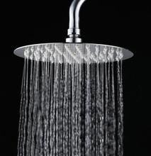 8 10 12 inch 304 stainless steel Shower head Round Ultrathin Rainfall  Shower Head Bathroom shower head Rain showerOnline Get Cheap 10 Inch Rain Shower Head  Aliexpress com  . 10 Inch Rain Shower Head. Home Design Ideas