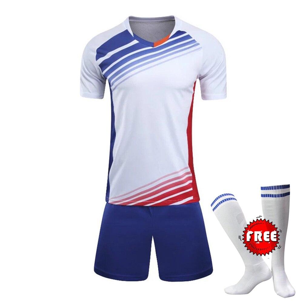 4142d7aff Men Survetement Football Training Suit Soccer Jerseys Set Boys Soccer  Jersey Youth Set Kids Football Kits Maillot De Foot sets