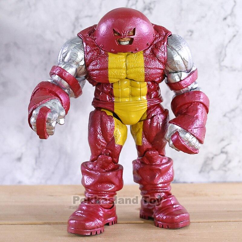 Marvel Legends X men Cain Марко Juggernaut ПВХ фигурка Коллекционная модель игрушки 22 см