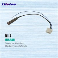 Car Radio Antenna Adapter Cable Wire For Nissan 2006 2012 Aftermarket Stereo CD DVD GPS Installation