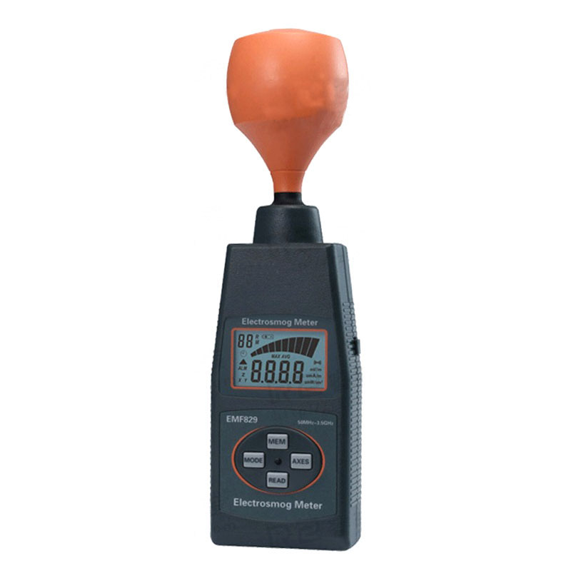 EMF829 High frequency field strength meter Radiation detector Magnetic field strength measuring instrument Electromagnetic wave