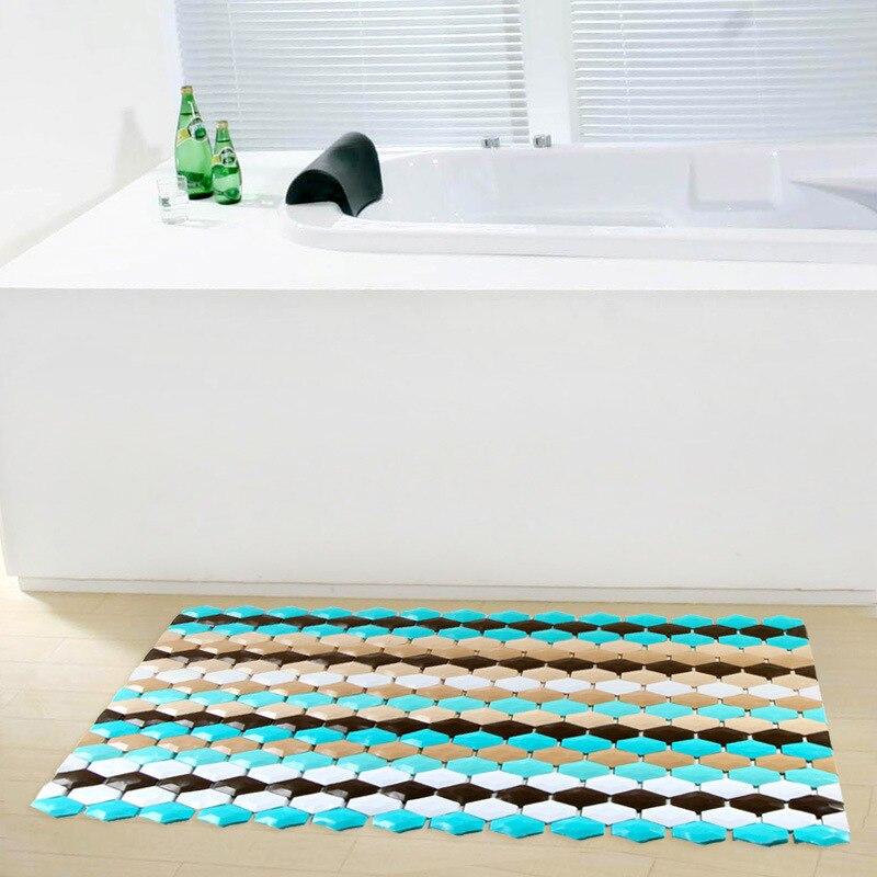 ≧Modern Striped Bathtub Mats Bath PVC Shower Bath Room Slip ...