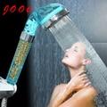 Jooe Filtro Chuveiro Poupança de Água Chuveiro de Mão Rodada Íon Spa Banho de Chuveiro Acessórios Do Banheiro chuveiro ducha ducha