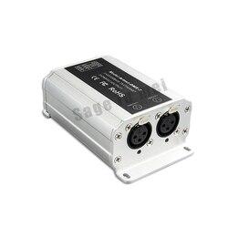 DC12V Artnet-DMX-2; ArtNet-DMX converter;ArtNet input;DMX 1024 channels output 512x2CH channels free shipping
