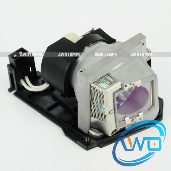AWO 100% Original Projector Lamp with Housing for DELL S320/S320WI  VIP240W Bulb inside 180 Day Warranty original projector lamp for dell 1609wx with housing