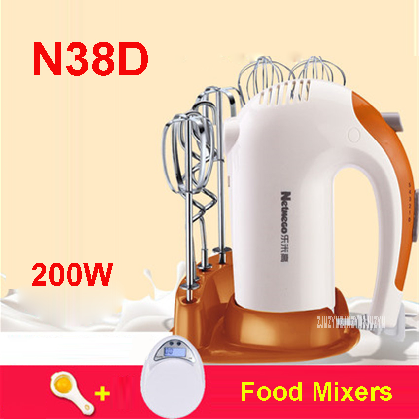 N38D Ultimate type of handheld palm fridge mixer electric mixer food 5 file mixing family with 6 tools 220V / 200W Food Mixers utilization of palm oil mill wastes