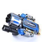 Us Captain Shield Soft Bomb Launcher Electric Hair Spray Toy Gun Boy Birthday Gift Toys For Children Hobbies Action Toy Figures