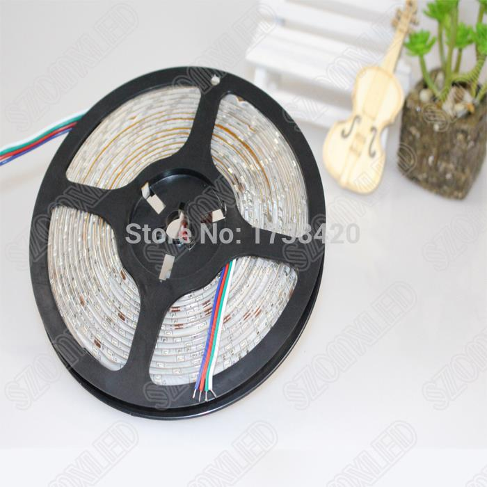 Outdoor 12 Volt 60leds Meter Led Strip Smd 5050 Rgb: 60LEDs/M 15m LED Strip 3528 SMD Waterproof IP65 RGB LED