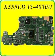 For ASUS X555LD X555LB X555LD X555LJ X555LN Motherboard REV3. 1 Mainboard GTX820M 2GB W/i3-4030U Free shipping