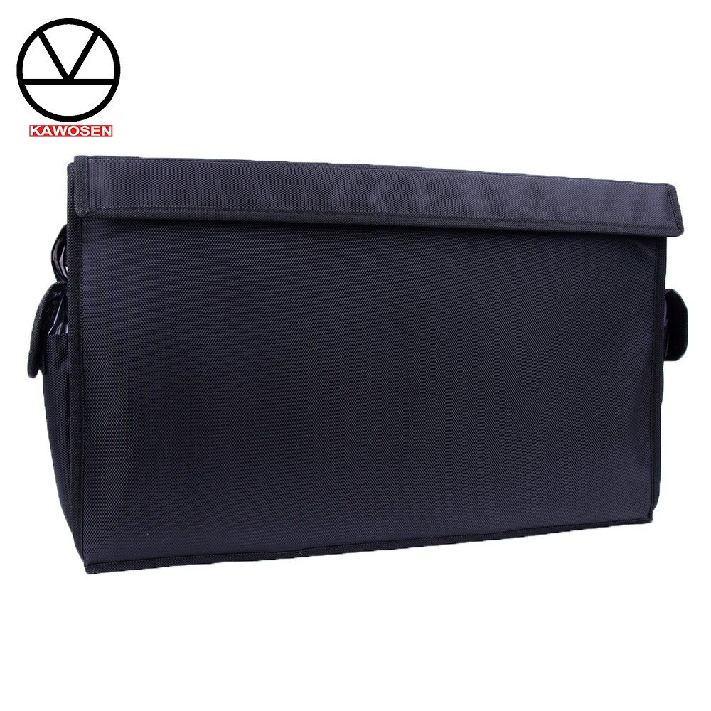 KAWOSEN Heavy Duty Oxford Stowing Tidying Interior Holders Car Foldable Trunk Organizer Storage Bag 50 KG Load Rear Racks HDTO01