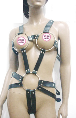 Femdom party cock harness