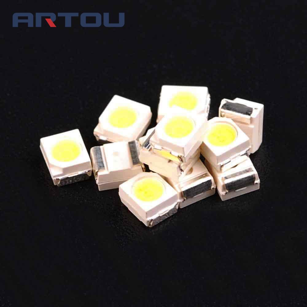 100PCS <font><b>1210</b></font> 3528 <font><b>SMD</b></font> <font><b>LED</b></font> Ultra Bright White/Blue/Red/Green/Yellow Light Diode image