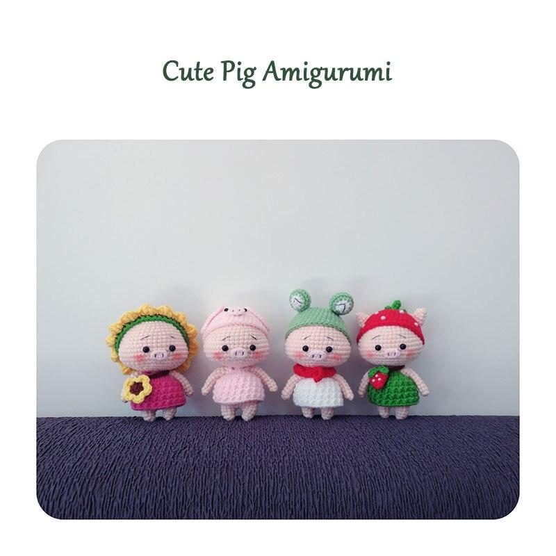 amigurumi pig tutorial - crochet pig - YouTube   800x800