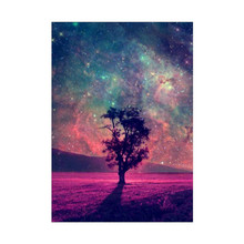 Full Circle Diamond Art 5D DIY Painting Cross Stitch Landscape Embroidery Night Picture Mosaic