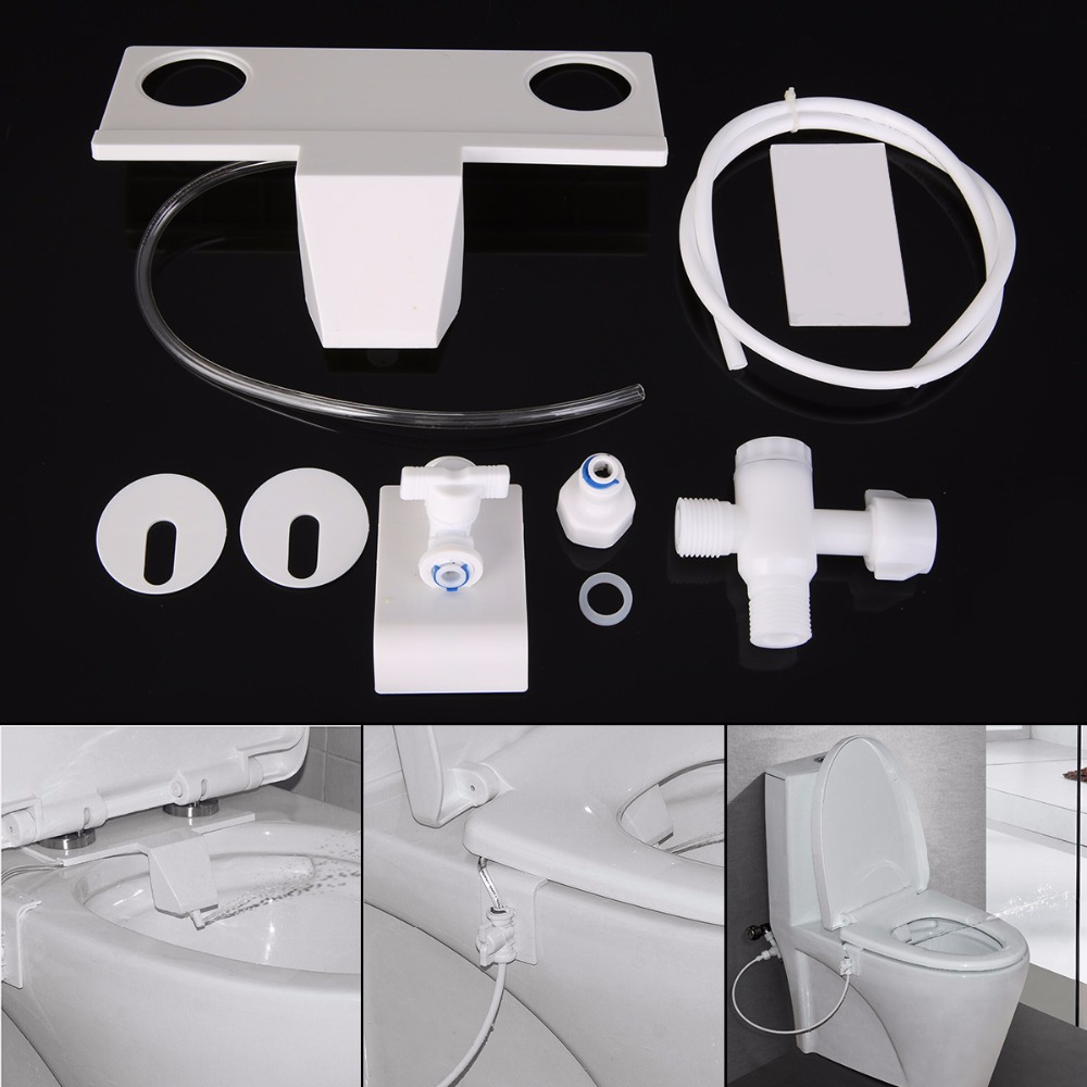 Durable Toilet Bidet Water Spray Seats Mayitr Hand Operation Smart Toilet Water Spray Seat Bathroom Toilet Bidet Accessory