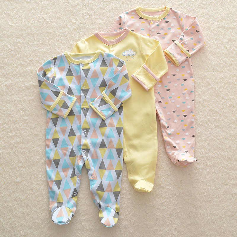 b7f689710f18 2018 Baby Romper Set 3pcs Newborn Clothes 3M-12M Infant Clothing Cute  Cartoon High Quality