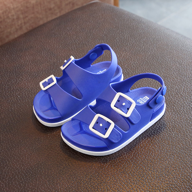 Summer 2019 boys shoes England 1-4 years old baby children's sandals children's non-slip sandals children 3