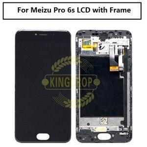 """Image 2 - 5.2 """"Amoled Meizu برو 6 M570M M570C M570Q M570h شاشة الكريستال السائل مع اللمس الزجاج محول الأرقام الإطار الجمعية استبدال Meizu برو 6s"""