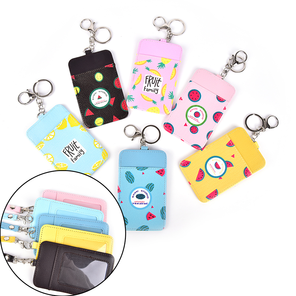 Neck Hanging & Key Hook Bus & Id Card Holder Case Pouch Bag Holder Available In Various Designs And Specifications For Your Selection Luggage & Bags 1pcs Creative Novelty Summer Fruits 11*7cm