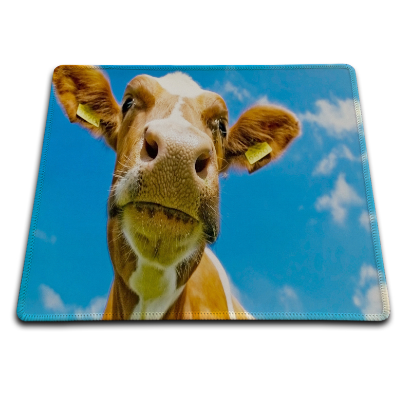 Best Free Desktop To Cow Fashion Rubber Gaming Mouse Mat Pad Overlock Speed Pads 180*220 ...