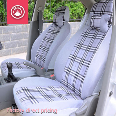 Seat Covers Car Geely Emgrand EC7 EC8 EC9 X7 Accessories Set Plaid Universal Red In Automobiles From