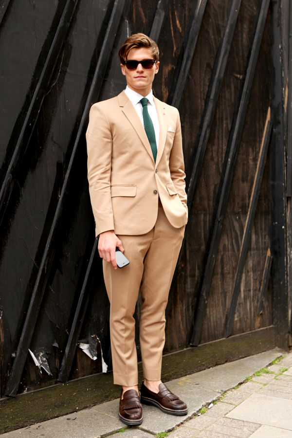 Latest Coat Pant Designs Tan Casual Bridegroom Custom Wedding Suits For Men Notched Lape ...