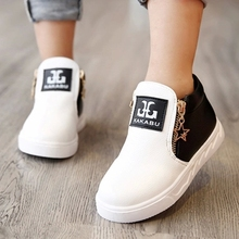 Hot 2016 New Arrival Autumn Winter Children Martin font b Boots b font Boys Shoes Girls