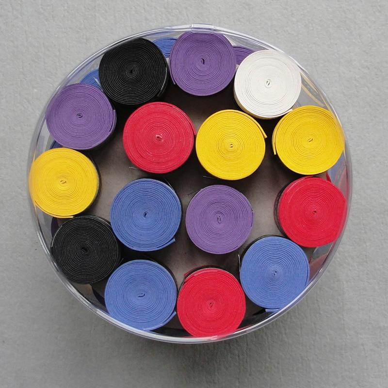 Wholesale 60 Pcs/lot Anti-slip Tennis Racket Overgrips New Scrub Hand Gel Tape Glue Overgrips
