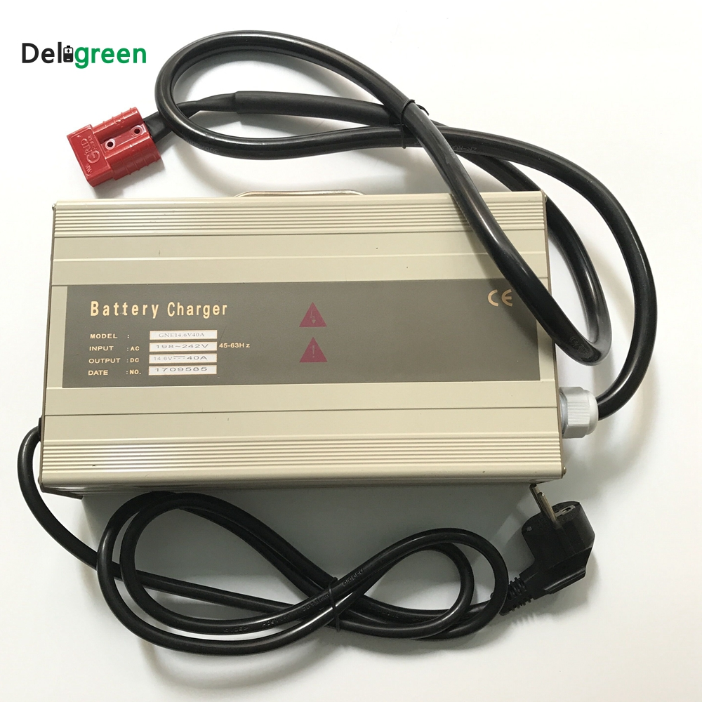 48V 20A 25A Smart Portable Charger for Electric forklift golf cart for 16S 58 4V Lifepo4