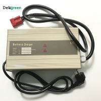 48V 20A 25A Smart Portable Charger for Electric forklift,golf cart for 16S 58.4V Lifepo4 15S 63V LiNCM lead acid battery