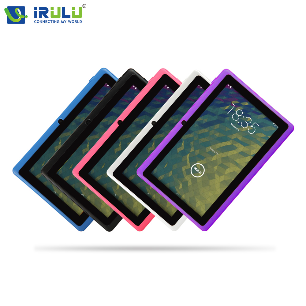 iRULU eXpro X1 7 Tablet 1024 600 HD Android 4 4 Tablet PC Allwinner A33 Quad